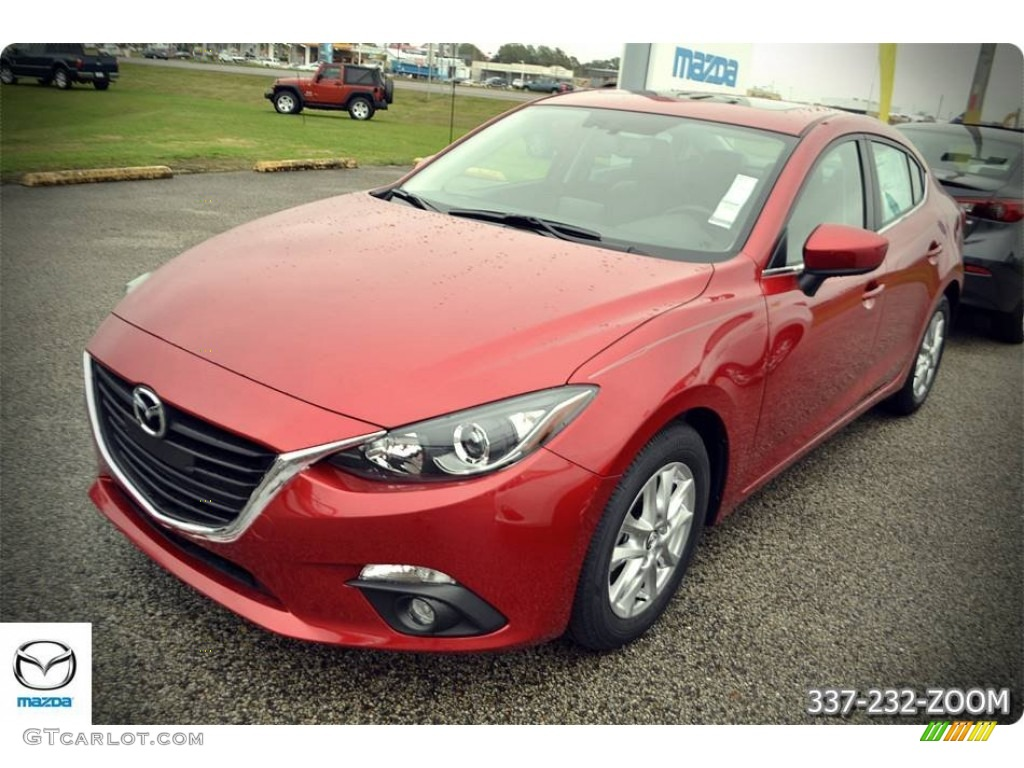 2016 soul red metallic mazda mazda3 i grand touring 4 door 109583122 car color. Black Bedroom Furniture Sets. Home Design Ideas