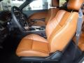 2016 Dodge Challenger Black/Sepia Interior Prime Interior Photo