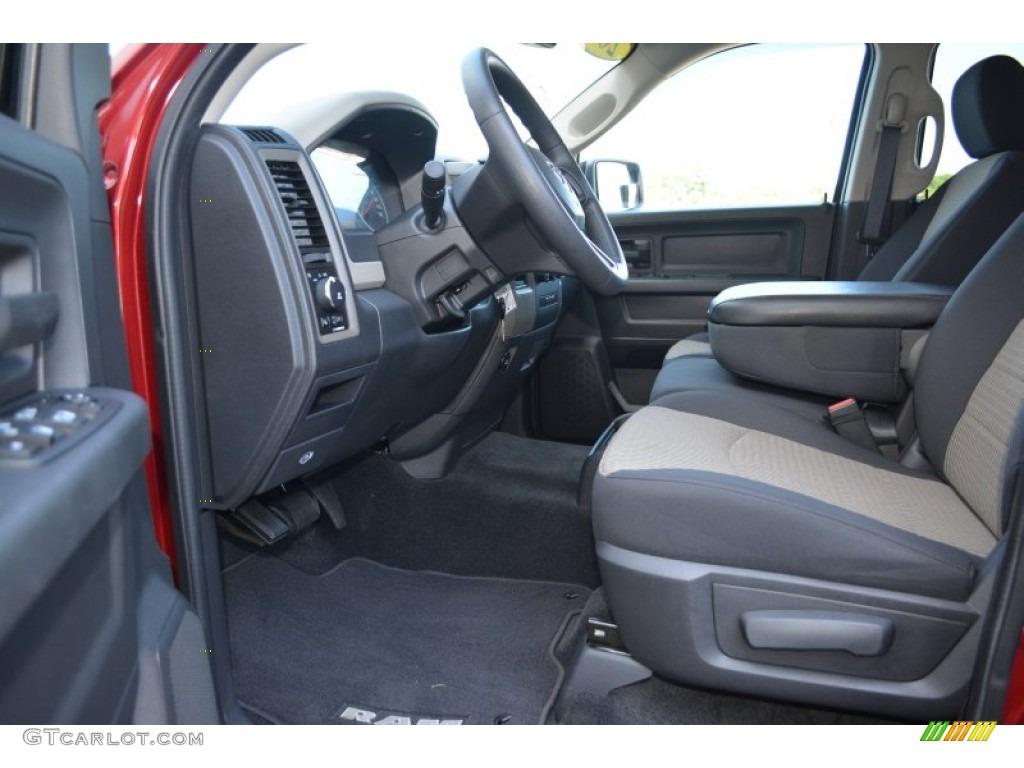 2012 Ram 1500 Express Crew Cab - Deep Molten Red Pearl / Dark Slate Gray/Medium Graystone photo #12