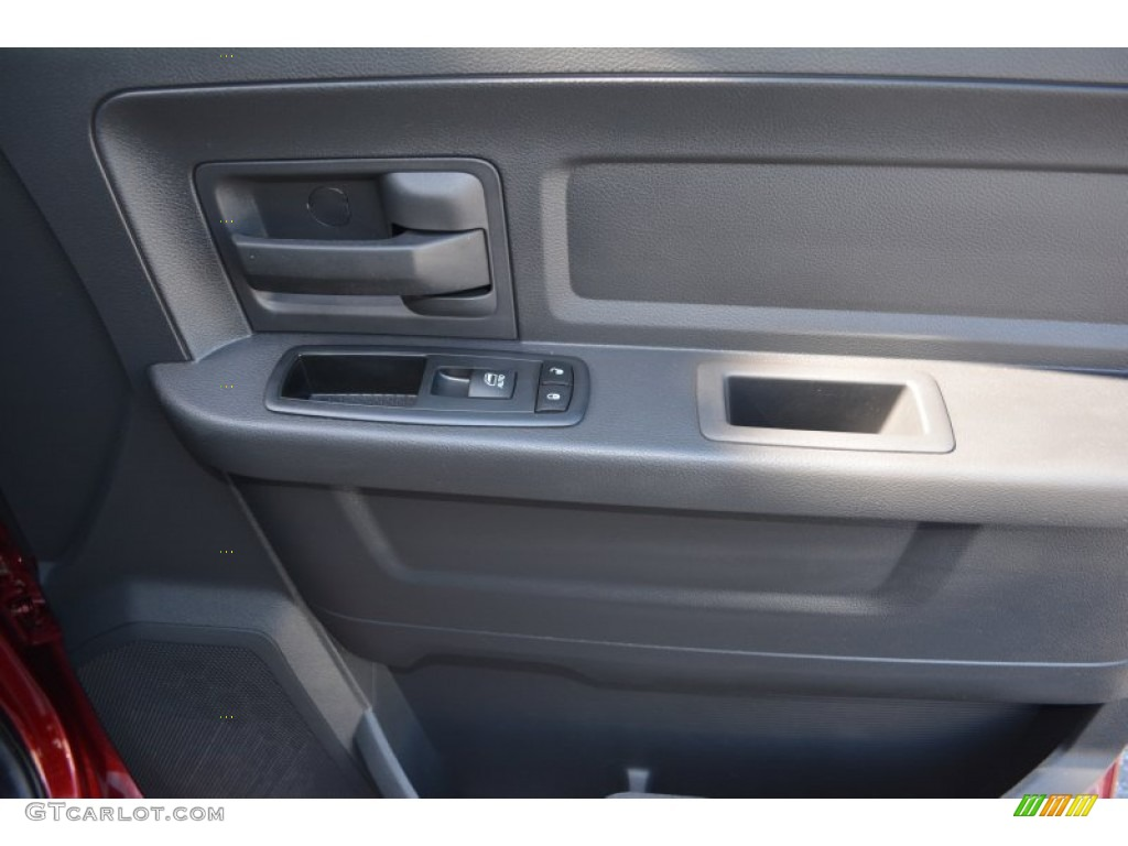 2012 Ram 1500 Express Crew Cab - Deep Molten Red Pearl / Dark Slate Gray/Medium Graystone photo #17