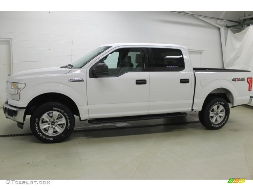 2016 Oxford White Ford F150 Xlt Supercrew 4x4 109582247