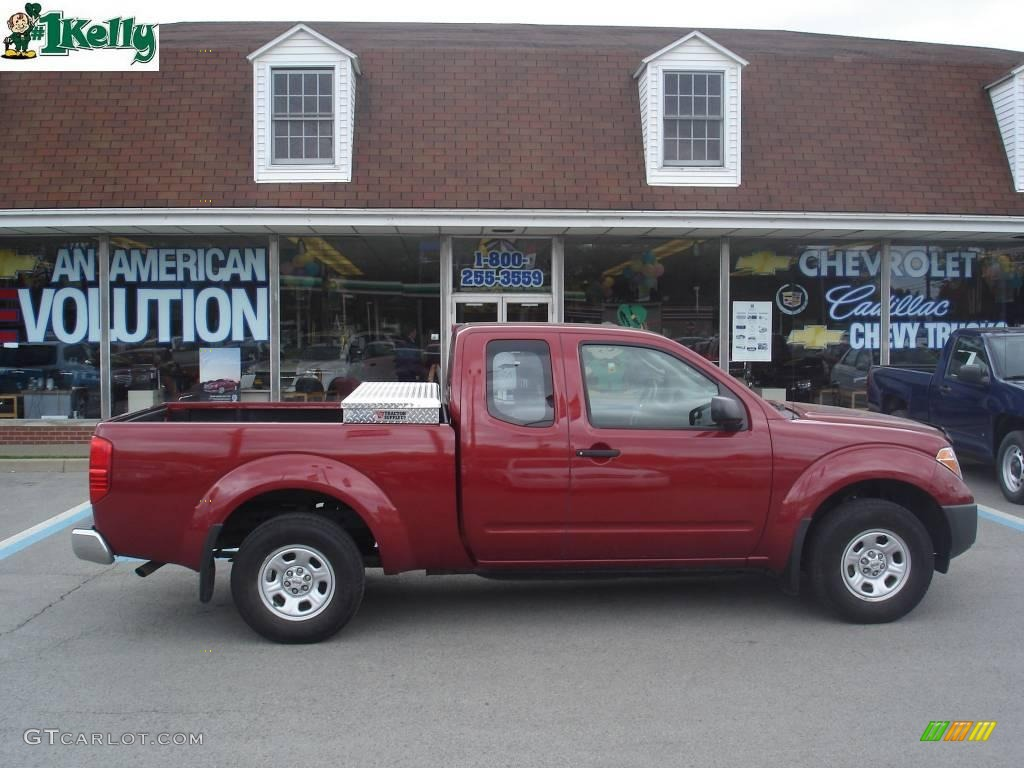 2008 red brawn nissan frontier xe king cab 10931208 car color galleries. Black Bedroom Furniture Sets. Home Design Ideas