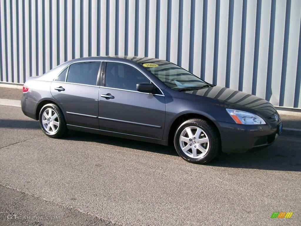 2005 graphite pearl honda accord ex l v6 sedan 1085829. Black Bedroom Furniture Sets. Home Design Ideas