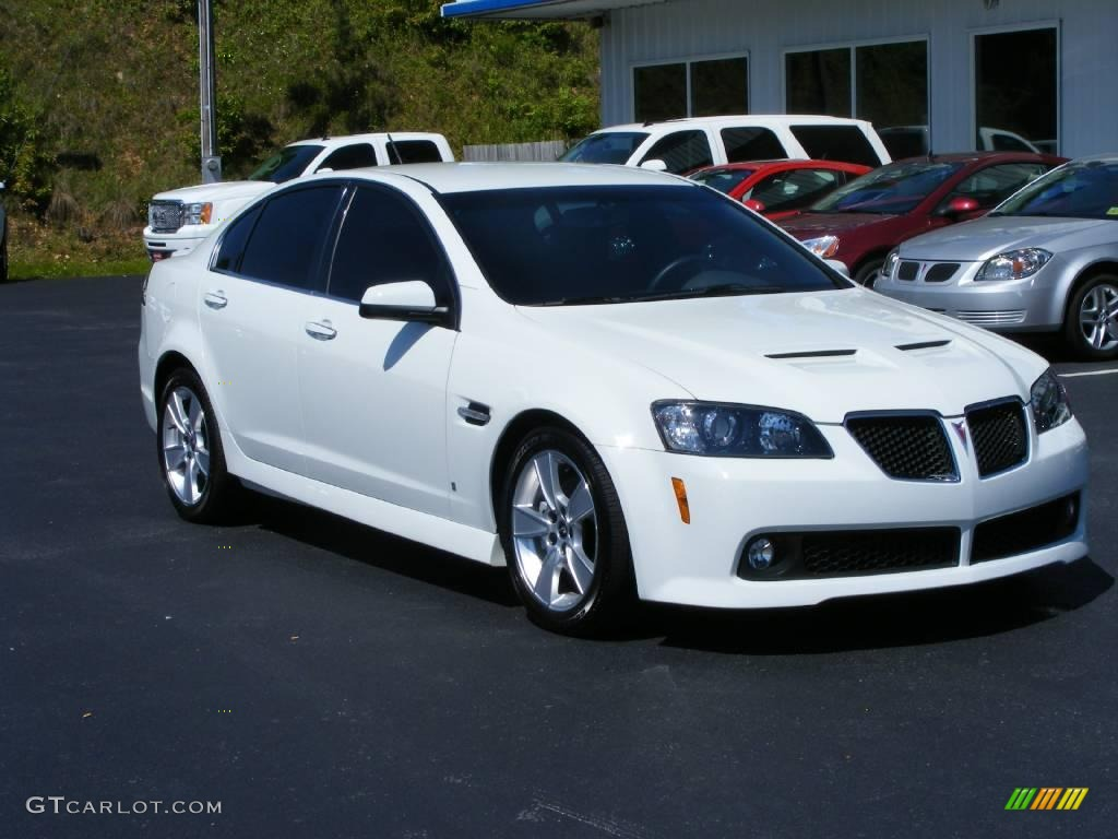 2008 White Hot Pontiac G8 Gt 10935740 Photo 2 Gtcarlot