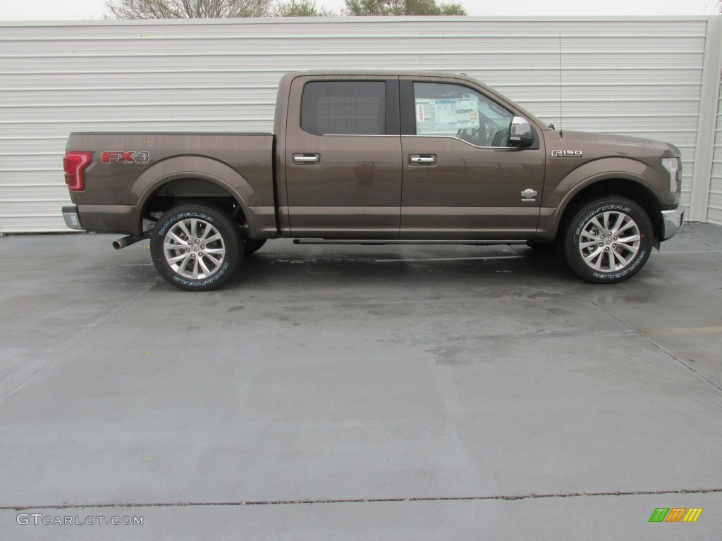 2016 F150 King Ranch Supercrew 4x4 Shadow Black King Ranch
