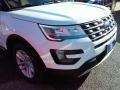 2016 Oxford White Ford Explorer XLT  photo #3