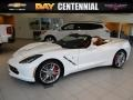 Arctic White 2016 Chevrolet Corvette Stingray Convertible