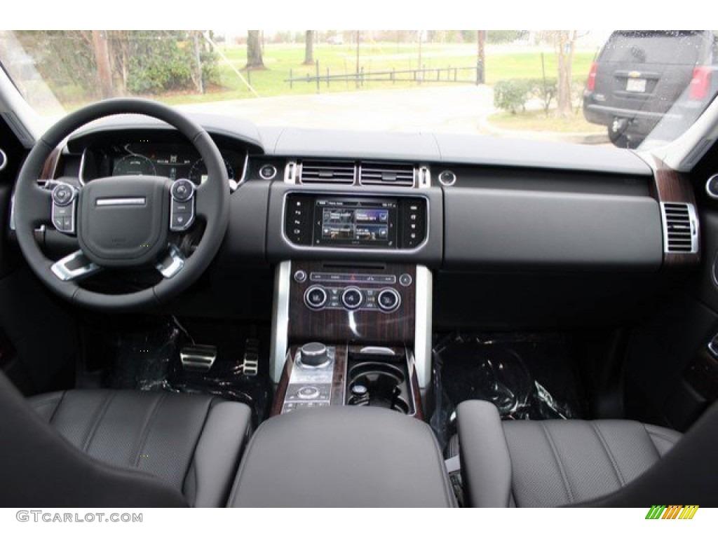 2016 Range Rover Supercharged - Aruba Metallic / Ebony/Ebony photo #4