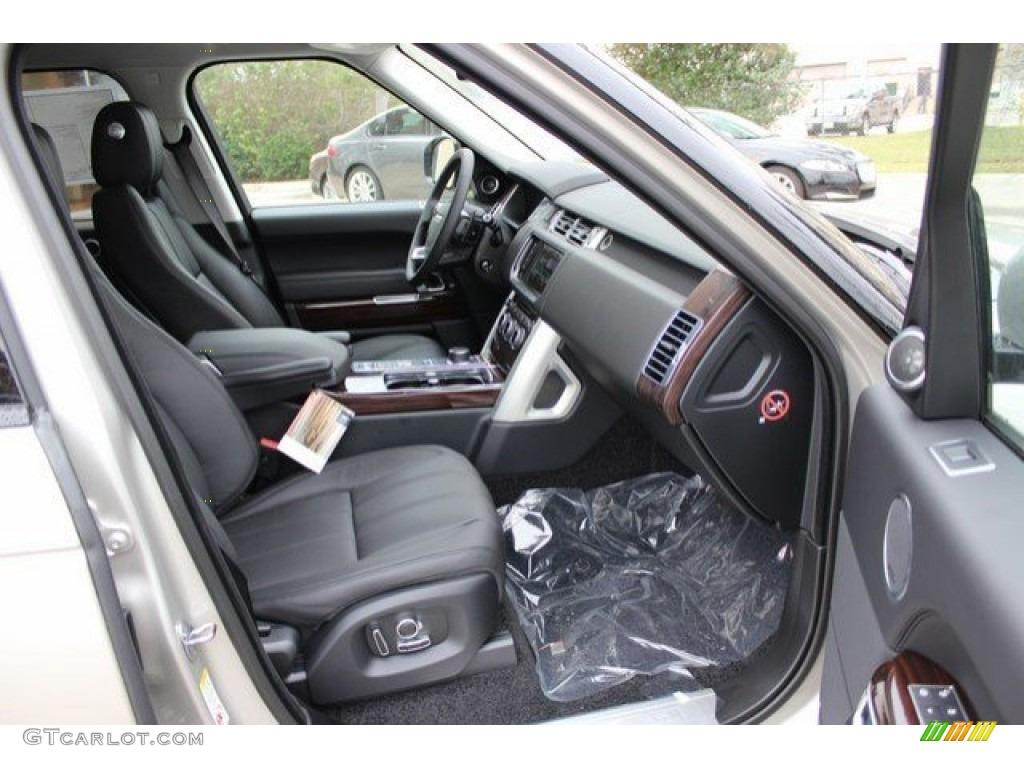 2016 Range Rover Supercharged - Aruba Metallic / Ebony/Ebony photo #5