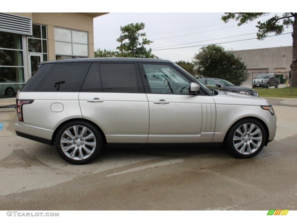 2016 Range Rover Supercharged - Aruba Metallic / Ebony/Ebony photo #12