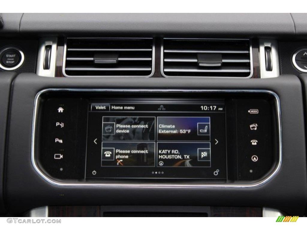 2016 Range Rover Supercharged - Aruba Metallic / Ebony/Ebony photo #14