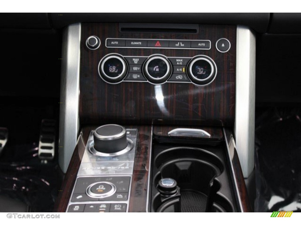 2016 Range Rover Supercharged - Aruba Metallic / Ebony/Ebony photo #15
