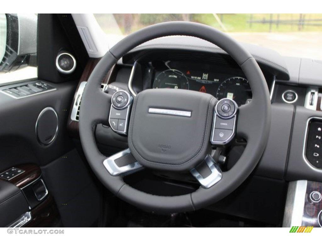 2016 Range Rover Supercharged - Aruba Metallic / Ebony/Ebony photo #16