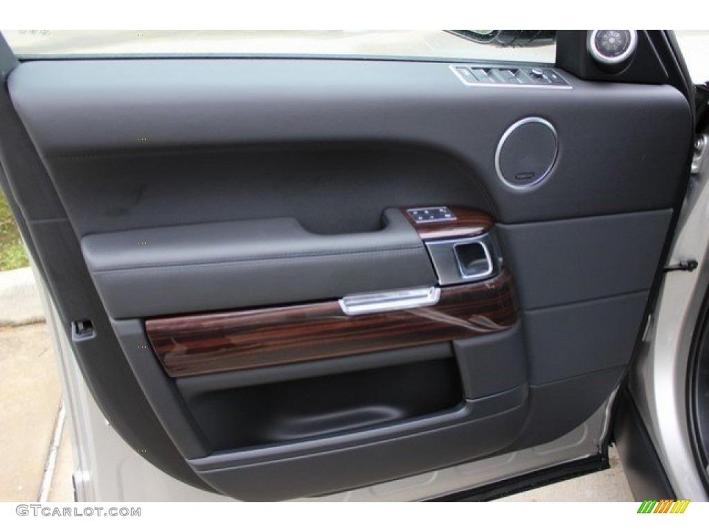 2016 Range Rover Supercharged - Aruba Metallic / Ebony/Ebony photo #20