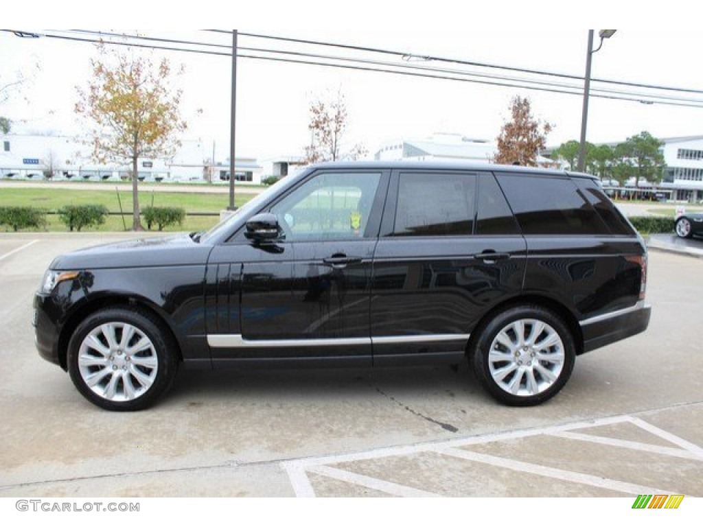 Range Rover Autobiography Black Interior >> 2016 Santorini Black Metallic Land Rover Range Rover Supercharged #109797650 Photo #8 | GTCarLot ...