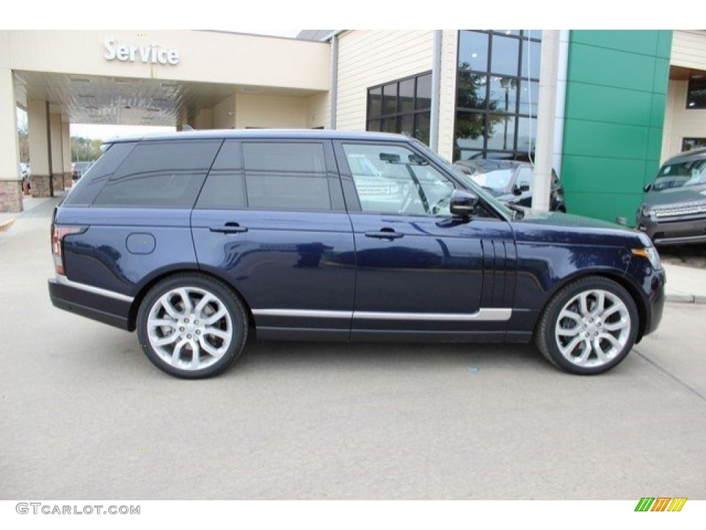 2016 loire blue metallic land rover range rover. Black Bedroom Furniture Sets. Home Design Ideas