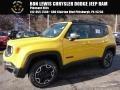 2016 Solar Yellow Jeep Renegade Trailhawk 4x4  photo #1