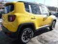 2016 Solar Yellow Jeep Renegade Trailhawk 4x4  photo #5