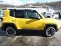 2016 Solar Yellow Jeep Renegade Trailhawk 4x4  photo #6