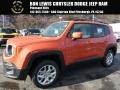2016 Omaha Orange Jeep Renegade Latitude 4x4  photo #1
