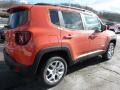 2016 Omaha Orange Jeep Renegade Latitude 4x4  photo #5