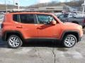 2016 Omaha Orange Jeep Renegade Latitude 4x4  photo #6