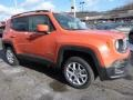 2016 Omaha Orange Jeep Renegade Latitude 4x4  photo #7