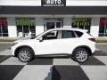 2015 Crystal White Pearl Mica Mazda CX-5 Grand Touring #109797548
