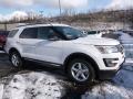 2016 Oxford White Ford Explorer XLT 4WD  photo #1