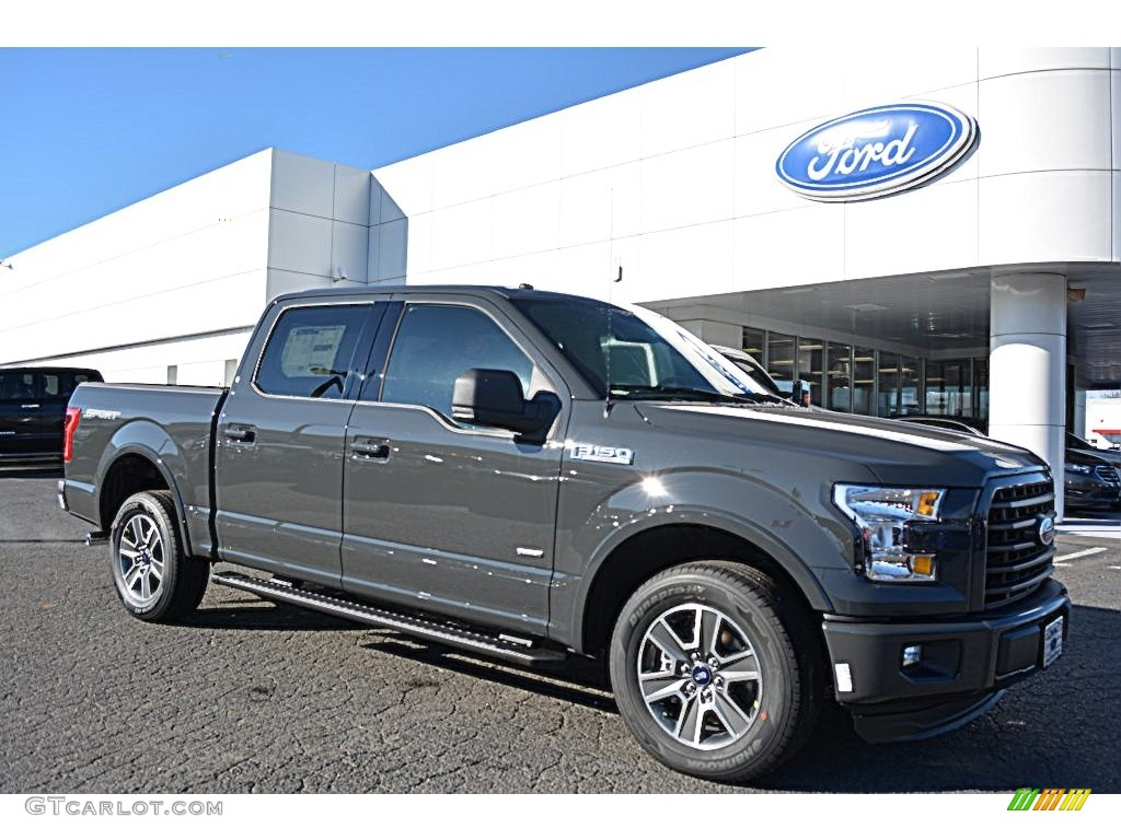 2016 lithium gray ford f150 xlt supercrew 109797386 car color galleries. Black Bedroom Furniture Sets. Home Design Ideas