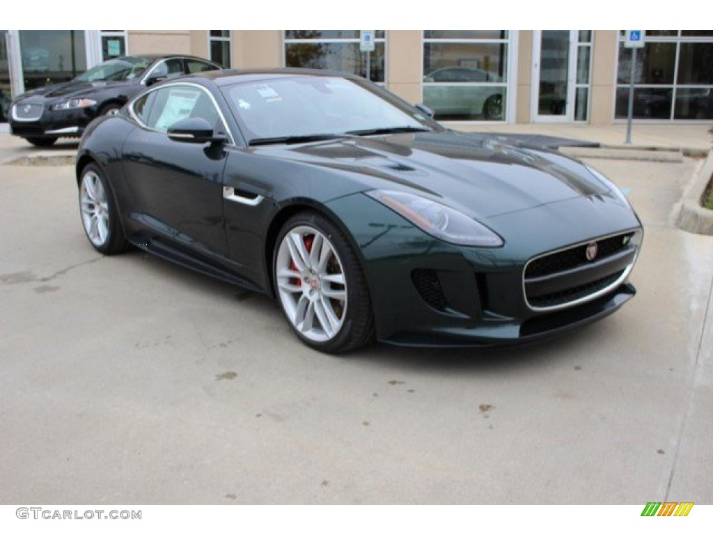 Jaguar f type coupe green - photo#24