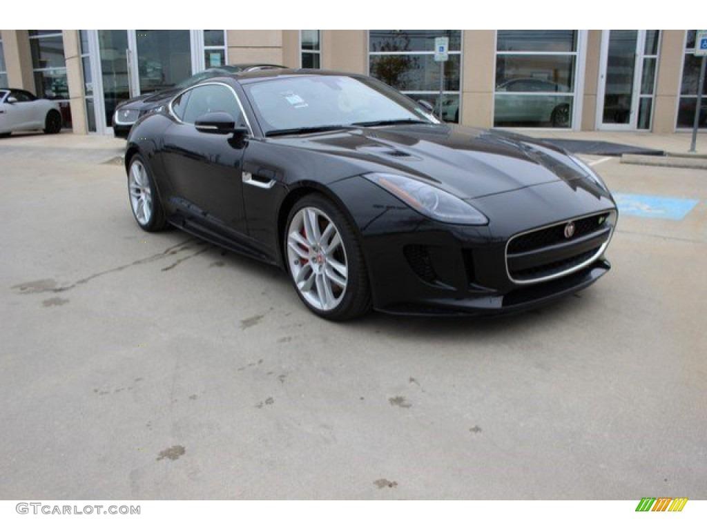 jaguar f type r coupe black - photo #17