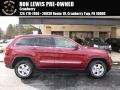 Deep Cherry Red Crystal Pearl 2012 Jeep Grand Cherokee Laredo 4x4