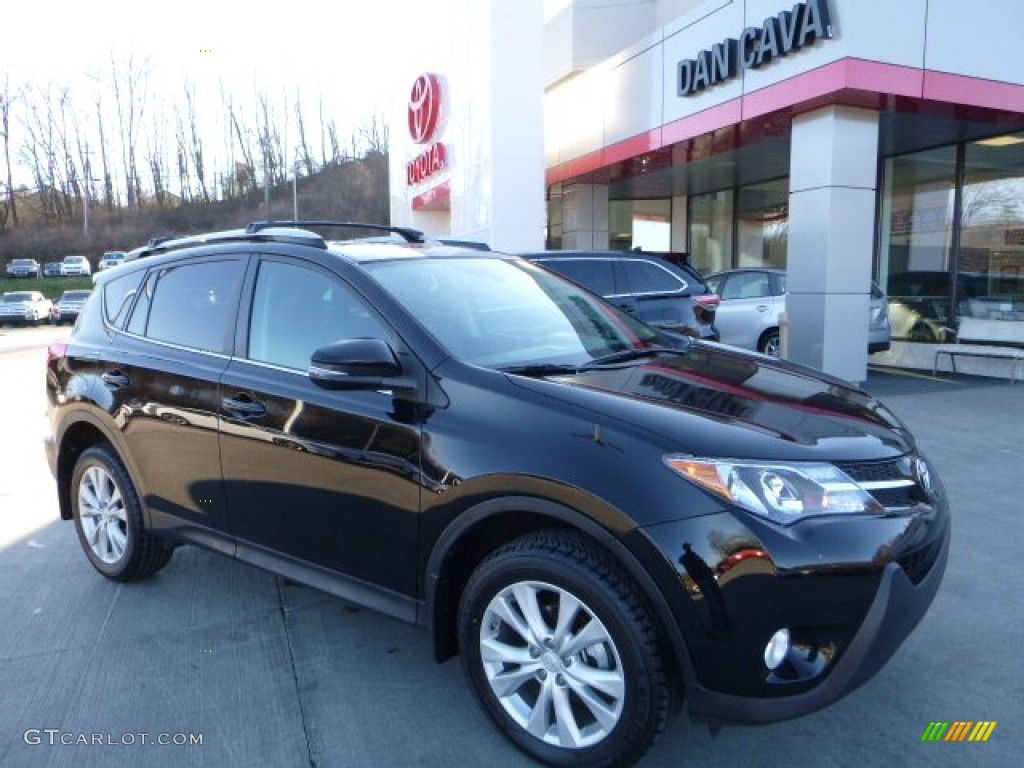 2014 black toyota rav4 limited awd 109872724 gtcarlot. Black Bedroom Furniture Sets. Home Design Ideas