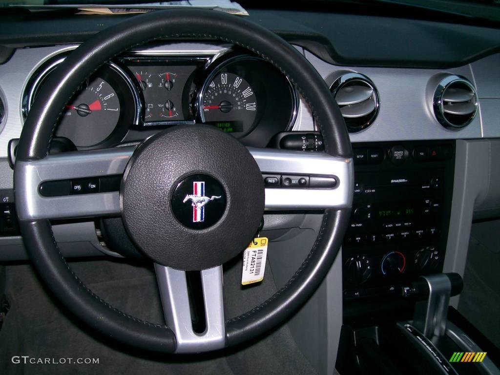 2006 Mustang V6 Premium Coupe - Windveil Blue Metallic / Light Graphite photo #5