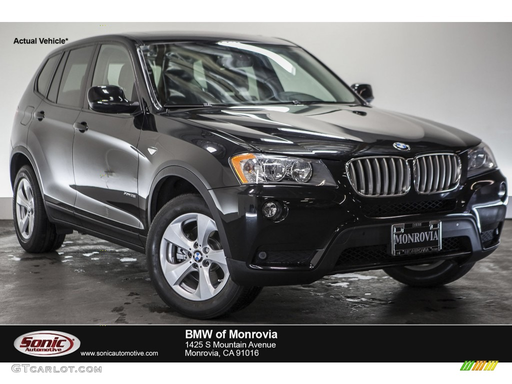 2012 black sapphire metallic bmw x3 xdrive 28i 109872627 car color galleries. Black Bedroom Furniture Sets. Home Design Ideas