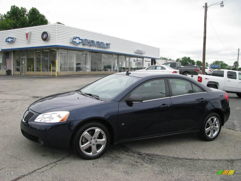 2008 Midnight Blue Metallic Pontiac G6 Gt Sedan 10989075