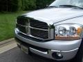 2006 Bright Silver Metallic Dodge Ram 1500 SLT Quad Cab 4x4  photo #2