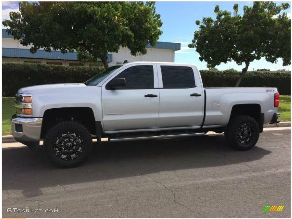 2015 Silver Ice Metallic Chevrolet Silverado 2500HD LT ...