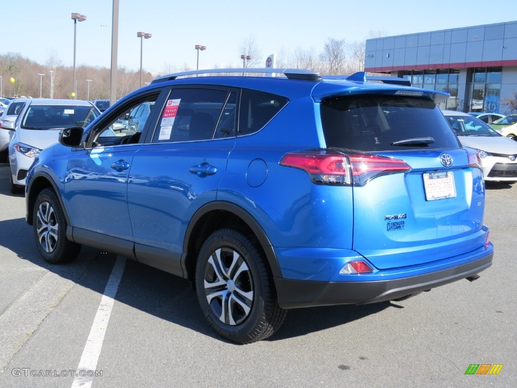 2016 Electric Storm Blue Toyota Rav4 Le 109908807 Photo