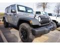 2016 Billet Silver Metallic Jeep Wrangler Unlimited Willys Wheeler 4x4  photo #4