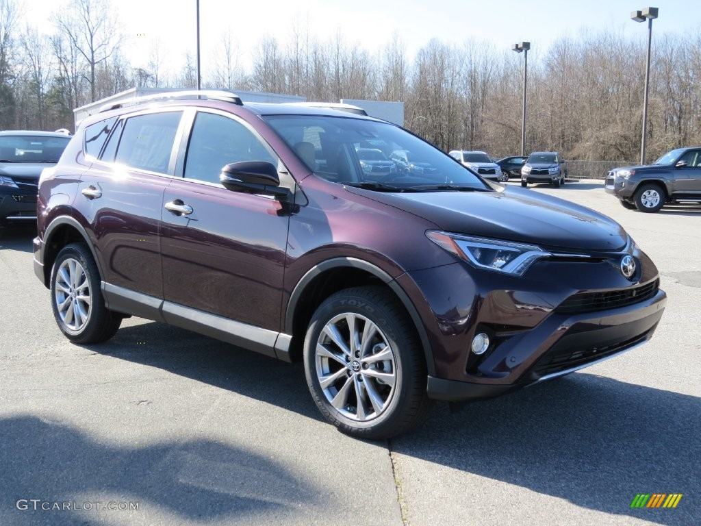 2016 Black Currant Metallic Toyota Rav4 Limited 109908792