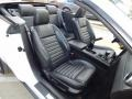 2008 Ford Mustang Black Interior Front Seat Photo
