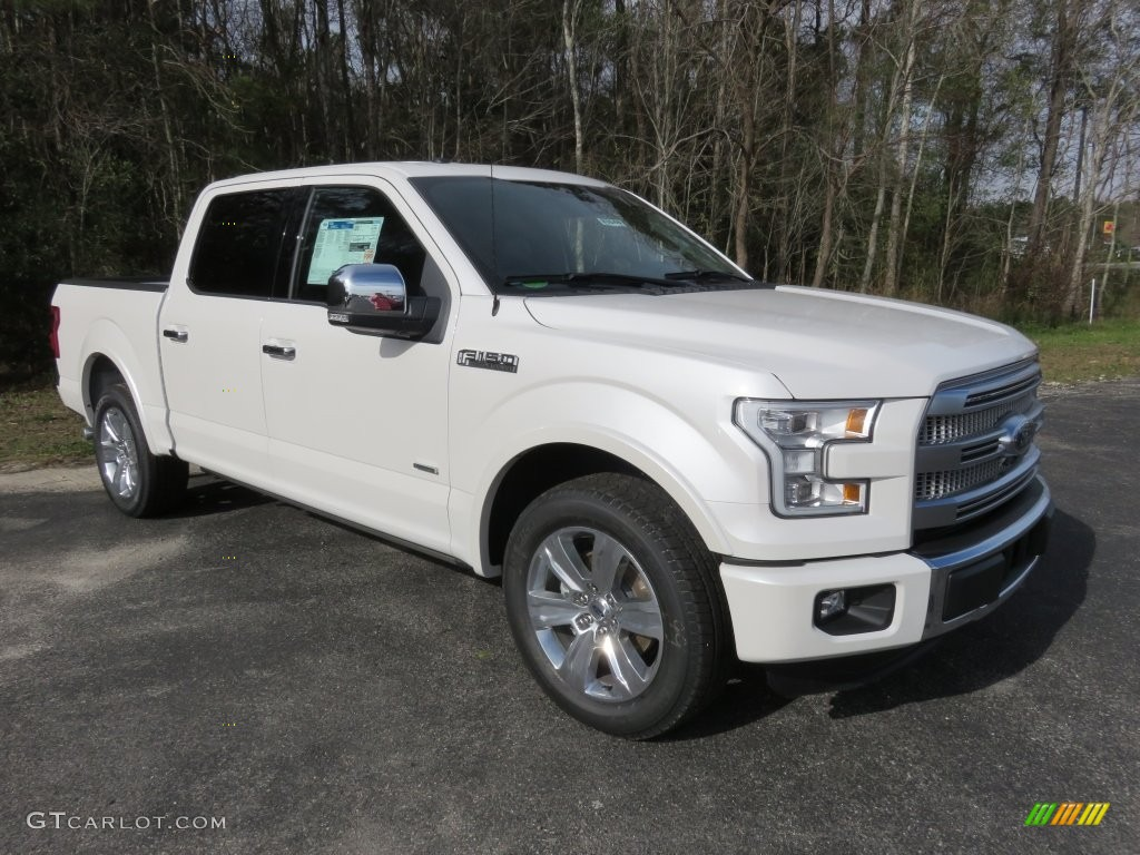 2016 white platinum ford f150 platinum supercrew 109908987 car color galleries. Black Bedroom Furniture Sets. Home Design Ideas