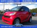 Rally Red 2011 Smart fortwo passion coupe