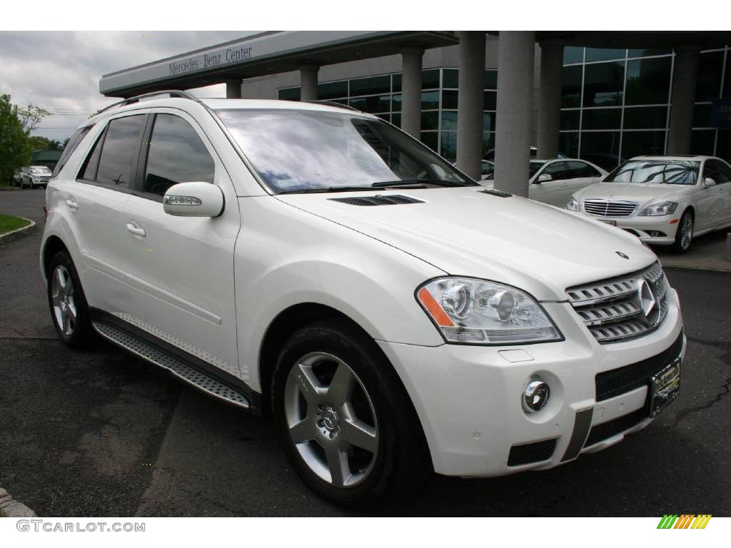 2007 alabaster white mercedes benz ml 320 cdi 4matic 10975907 photo 2 car. Black Bedroom Furniture Sets. Home Design Ideas