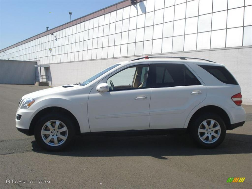 2007 alabaster white mercedes benz ml 320 cdi 4matic 10975872 photo 2 car. Black Bedroom Furniture Sets. Home Design Ideas
