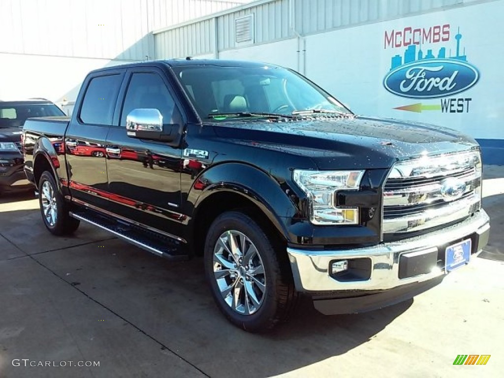 2016 shadow black ford f150 lariat supercrew 109946137 car color galleries. Black Bedroom Furniture Sets. Home Design Ideas