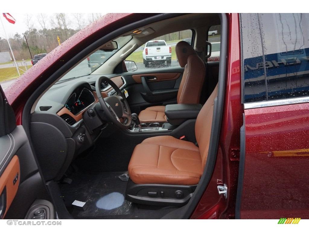 Ebony Saddle Up Interior 2016 Chevrolet Traverse Lt Photo 109961876