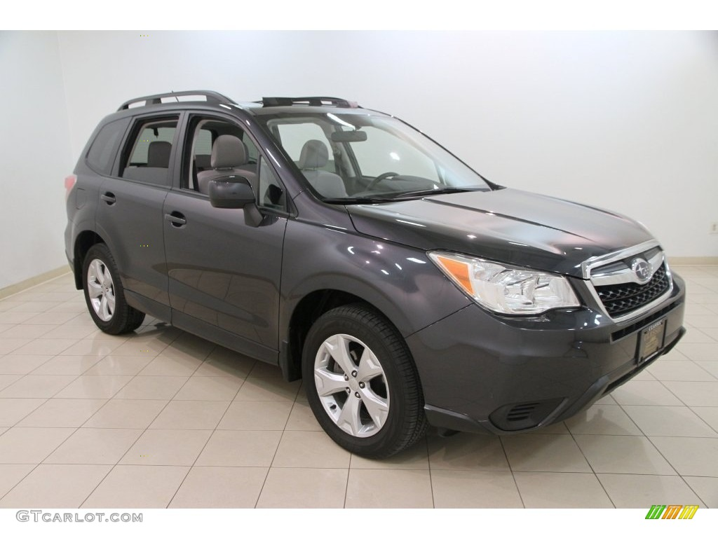 2015 dark gray metallic subaru forester premium 109946422 photo 5 car. Black Bedroom Furniture Sets. Home Design Ideas